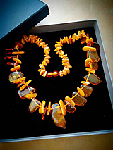 Náhrdelníky - náhrdelník z baltského Jantáru - 10806233_