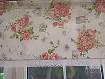 Úžitkový textil - záclona - 10807432_