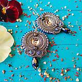 Náušnice - Frida Kahlo n.3 - sutaškové náušnice - 10807965_