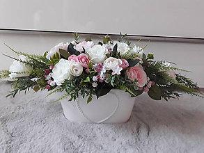 Dekorácie - Svadobná kvetinova vyzdoba - 10806180_