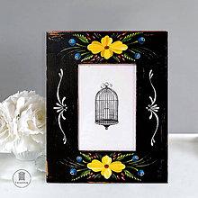 Rámiky - Starožitný rámček Victoria (a) 9x13 cm, pevná nožička, sklo) - 10808508_
