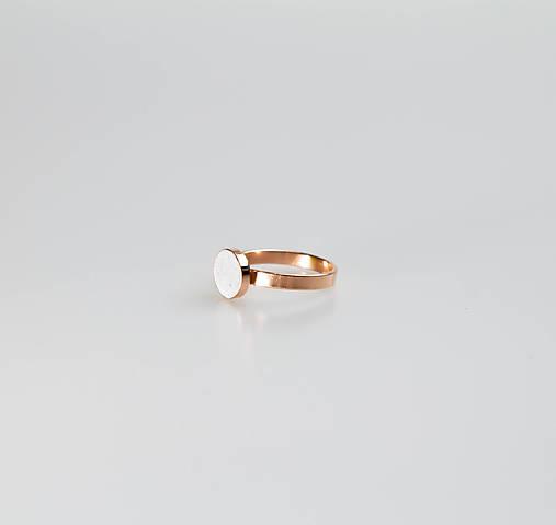Prstene - ORDINARY - betónový prsteň (sivá) - 10806649_