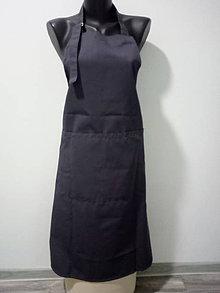 Úžitkový textil - Kuchárska zásterka cez krk - 10807739_