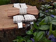 Doplnky - Pánsky set - drevený motýlik a traky - 10807229_