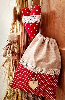 Úžitkový textil - Vrecko na bylinky - 10807425_