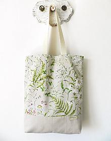 Nákupné tašky - Taška lúka na režnej - 10806444_