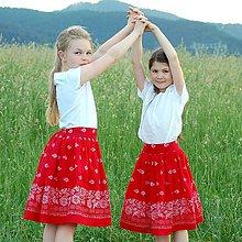 Sukne - Zlatá brána / Folk sukňa - 10806845_