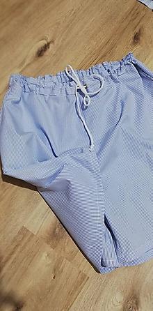 Nohavice - Dámske krátke nohavice - väčšie veľkosti - 10805995_