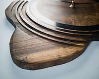 Hodiny - Artefakt - Orechové drevené hodiny - 10808265_