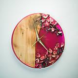 Hodiny - Kinder Garden - Živicové dekoračné hodiny - 10808513_