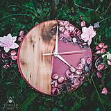 Hodiny - Kinder Garden - Živicové dekoračné hodiny - 10808514_
