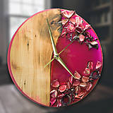 Hodiny - Kinder Garden - Živicové dekoračné hodiny - 10808515_