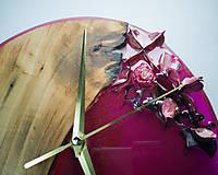 Hodiny - Kinder Garden - Živicové dekoračné hodiny - 10808517_