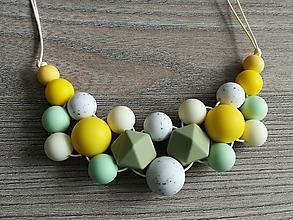 Detské doplnky - Dojčenský náhrdelník (kojonáhrdelník)