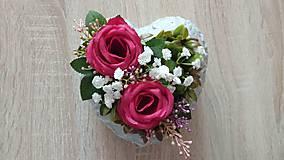 Dekorácie - Spomienkove srdce_rezervovane - 10807196_