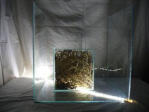 Nábytok - sklenené kocky - 10807305_