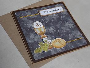 Papiernictvo - ...pohľadnica pre novokňaza... - 10806122_