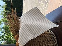Úžitkový textil - Ľanová utierka - 10807799_