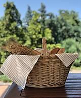 Úžitkový textil - Ľanová utierka - 10807805_