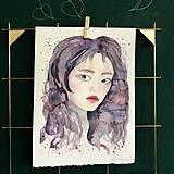 Kurzy - WORKSHOP akvarelovej maľby, Portrét (kurz, 2 dni) - 10806485_