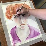 Kurzy - WORKSHOP akvarelovej maľby, Portrét (kurz, 2 dni) - 10806486_