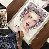 Kurzy - WORKSHOP akvarelovej maľby, Portrét (kurz, 2 dni) - 10806487_