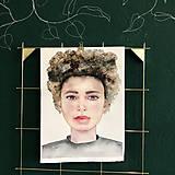 Kurzy - WORKSHOP akvarelovej maľby, Portrét (kurz, 2 dni) - 10806488_