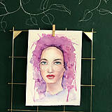 Kurzy - WORKSHOP akvarelovej maľby, Portrét (kurz, 2 dni) - 10806489_