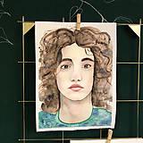 Kurzy - WORKSHOP akvarelovej maľby, Portrét (kurz, 2 dni) - 10806490_