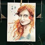 Kurzy - WORKSHOP akvarelovej maľby, Portrét (kurz, 2 dni) - 10806491_