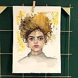 Kurzy - WORKSHOP akvarelovej maľby, Portrét (kurz, 2 dni) - 10806492_