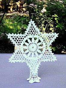 Dekorácie - Vianočná hviezda IV (Hviezda stojata) - 10808952_
