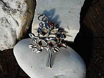 Náhrdelníky - tree of life-garnet red-granát II - 10810807_