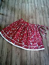 Sukne - Folklórna sukňa - 10809970_