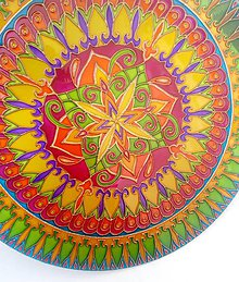 Dekorácie - Mandala Radosť zo Života - 10809930_