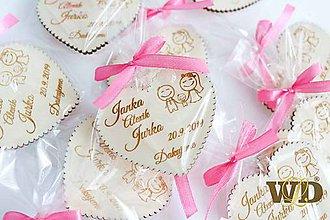 Darčeky pre svadobčanov - Svadobné darčeky s balením - 10809843_