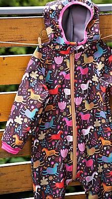 Detské oblečenie - Softshellový overal - 10808934_