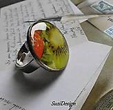 Prstene - kiwi prstienok - 10809810_