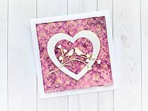 Papiernictvo - Svadobná pohľadnica - 10809722_