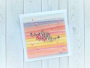 Papiernictvo - Svadobná pohľadnica - 10809790_