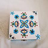 Krabičky - Šperkovnica v ľudovom štýle - 10810093_