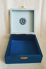 Krabičky - Šperkovnica v ľudovom štýle - 10810094_