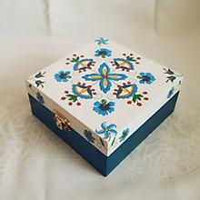 Krabičky - Šperkovnica v ľudovom štýle - 10810092_