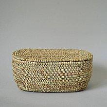 Dekorácie - RUSTIK Prútená šperkovnica (Doprava zadarmo) - 10810769_