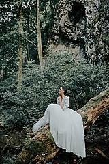 Šaty - svadobné šaty Holubička - 10809012_