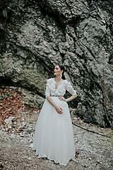 Šaty - svadobné šaty Holubička - 10809014_
