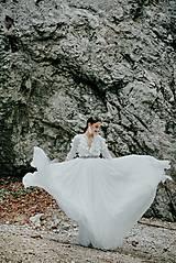 Šaty - svadobné šaty Holubička - 10809015_