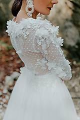 Šaty - svadobné šaty Holubička - 10809019_