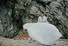 Šaty - svadobné šaty Holubička - 10809022_
