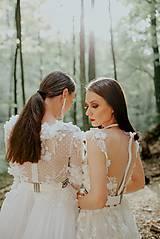 Šaty - svadobné šaty Holubička - 10809023_